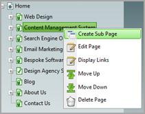 service webdevelopment contentmanagement Content Management System